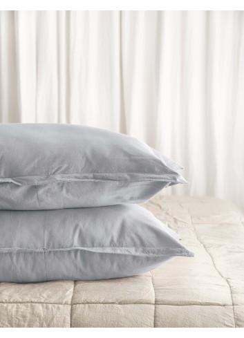 Gri Argintiu- Husa perna